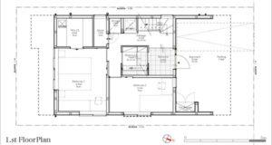 MapleHouse1階平面図