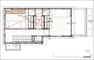 AkatukiHouse親世帯2階平面図
