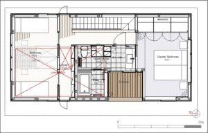 AkatukiHouse二階平面図