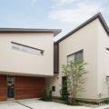 スープの冷めない隣居二世帯住宅~AkatukiHouse・防火地域の二世帯住宅