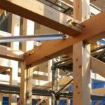 軸組み構造の接合部