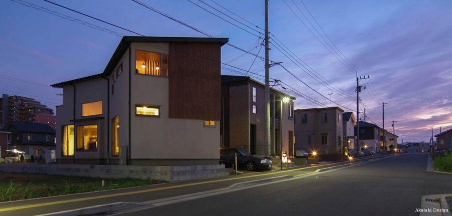 Hokuou House夜景
