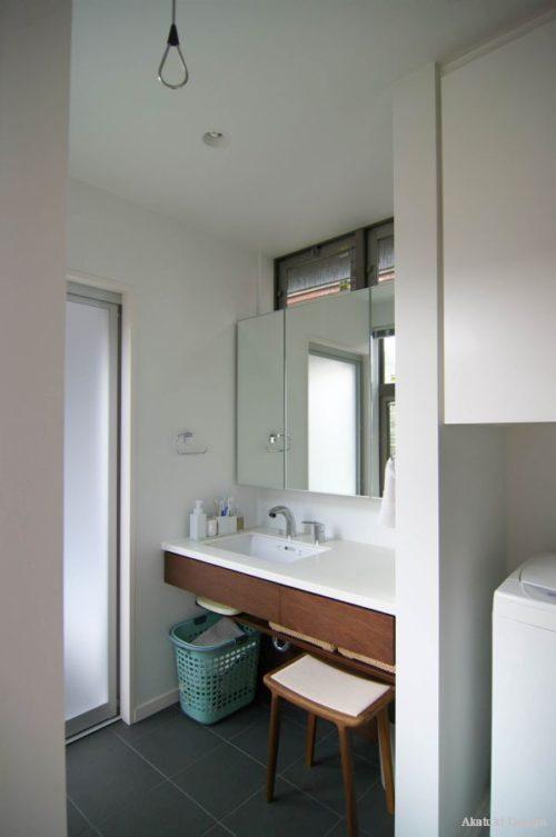 家事楽な洗面台