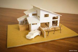 One Paku House模型