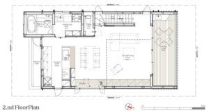 MapleHouse2階平面図