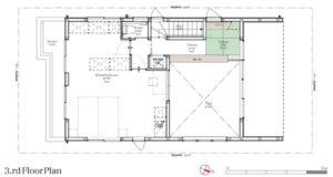 MapleHouse3階平面図