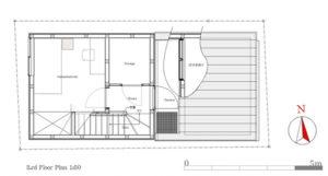 9坪ハウス3階平面図