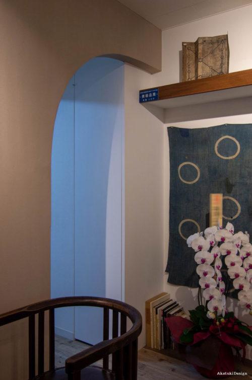 骨董いわた意匠壁