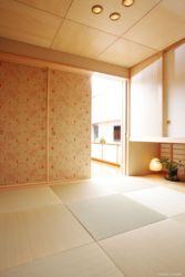京唐紙の襖