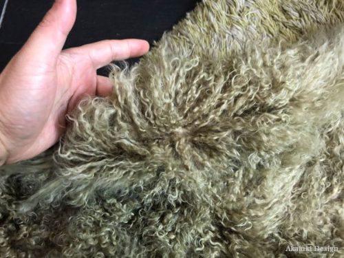羊皮のファー