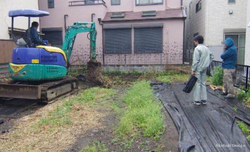 木漏れ日の家根切工事