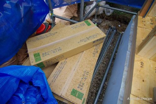 木漏れ日の家建て方
