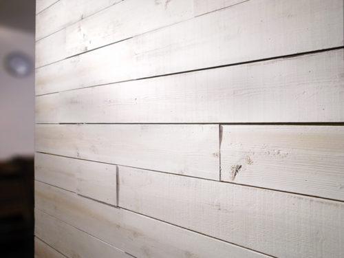 白い古材パネル