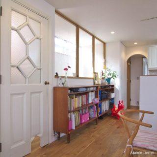 アンティーク扉と家具