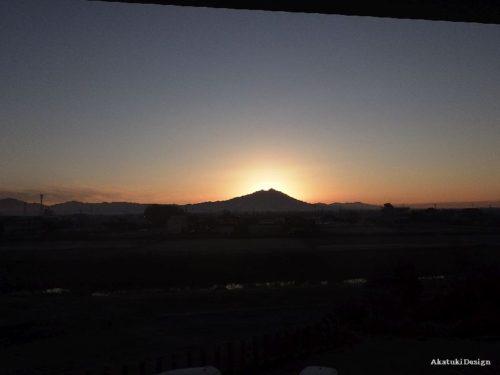 筑波山を眺める家の竣工写真