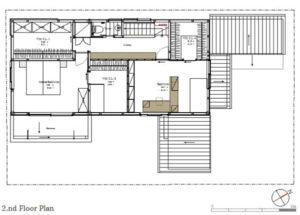 ゆとりの家2階平面図