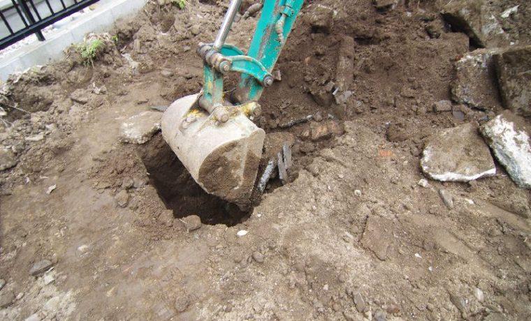 木漏れ日の家根切工事写真